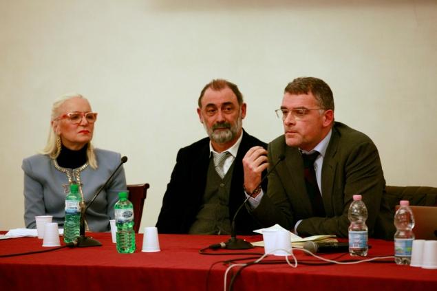 Luisa Quadalti Senzani, Luciano Arianna, Stefano Moriggi