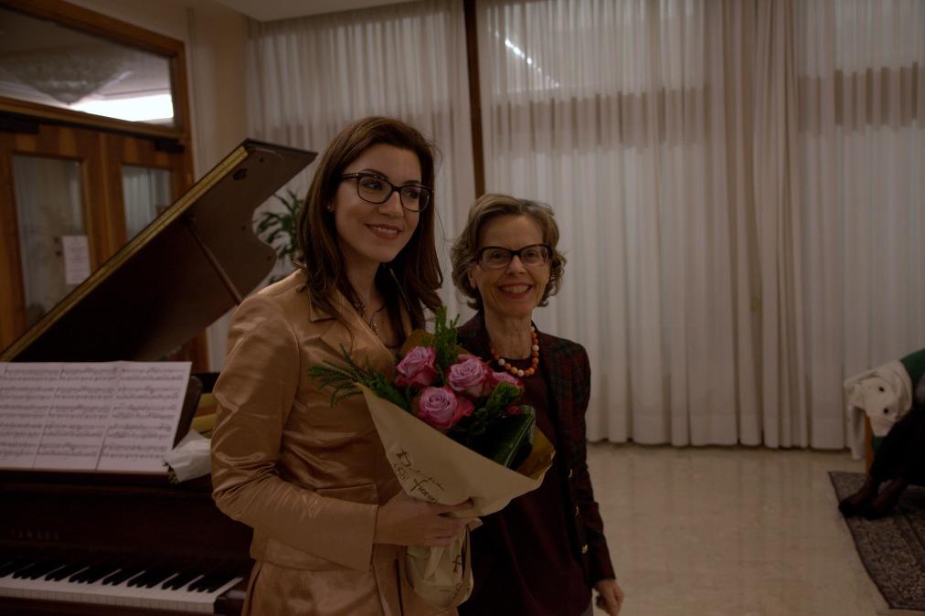 Giulia Vazzoler con Rosa Bernardo